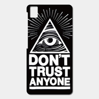 blackberry quotes - High Quality Cell phone case For BQ Aquaris E5 E6 M5 X5 csae Cool Quotes Trust No One Patterned Cover Shell Phone Case