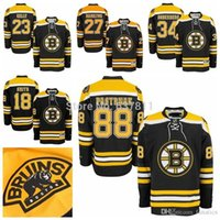 Wholesale Kelly Smith - 2016 Cheap 88 David Pastrnak Hockey Jerseys 27 Dougie Hamilton 23 Chris Kelly 34 Carl Soderberg 18 Reilly Smith Home Black Jersey