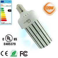 Wholesale High Intensity White Led Bulb - UL CE ROHS Listed 400W High intensity discharge replacement lighting led corn COB bulb 120W replacing HID old bulb lighting