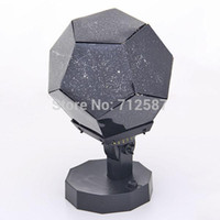 Wholesale Cosmos Sale - Hot sales Design Fantastic Celestial Star New Amazing Astro Star Laser Projector Cosmos Light Bulb Lamp free shipping
