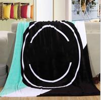 Wholesale Wholesale Sofa Springs - 130*150cm Pink VS Flannel Blanket Coral Fleece Blanket Sofa Bed Plane Travel Plaids Towel Swaddle Sleeper Comfortable Carpet KKA3230