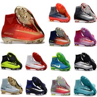 Wholesale Medium Time - cheaps mens outdoor soccer shoes mercurial superfly v neymar fg neymar woven pink and soccer cleats cr7 time to shine football shoes cleats