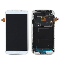 Wholesale lcd display galaxy s4 - Original brand new For Samsung Galaxy SIV S4 i9505 LCD Display+Digitizer Touch Screen with DHL free shipping