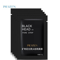 Wholesale Care Minerals - Pilaten Facial Black Mask Face Care Nose Acne Blackhead Remover Minerals Pore Cleanser Mask Black Head Strip maquiagem