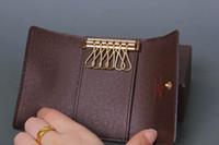 Wholesale Long Purse Zipper - 2016 Men Famous Brand Wallets,Fashion Men purse arteira Masculina Long Coin Pocket Men Purse Luxury L Brand Carteras With Box L4