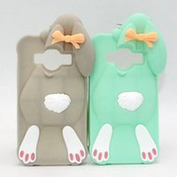 Wholesale Galaxy Grand Cute Cases - Cute 3D Bunny Rabbit Soft Silicone Case Cover For Samsung Galaxy S7 Edge J5 J7 A5 A7 2015 A5 A7 2016 A510 A710 Core Prime Grand Prime G530