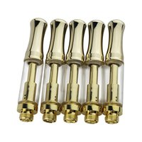 Wholesale E Vap - 510 co2 cartride bho vap refill disposable e-cigarette empty,510 oil extreacted glass cartridge empty