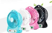 Wholesale Newest Portable Mini USB Fan Indoor Outdoor Kids Fans Charging Battery Powered Handheld cooler fan Cooling table Fan