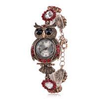 Wholesale Rhinestone Animal Watches - 2016 Fashion Classic Vintage Qwl Rhinestone Bracelet Women Watch Ladies Quartz Watch Women Wristwatch Relogio Feminino Montre Femme