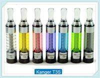 Wholesale Dhl Free Shipping Kanger Tank - cheapest kangertech kanger t3d tank atomizer 3.0ml dual coil head colorful dhl free shipping moq 50sets