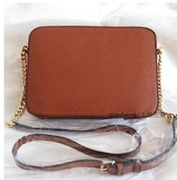 Wholesale Diagonal Zipper - 2016 spring cartoon new chain bag black leather shoulder diagonal package pu bag women Messenger Crossbody Bag Small