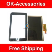 Wholesale Screen Replacement Tab - Black Color For Samsung Galaxy Tab 3 Lite 7.0 T110 T111 LCD Display + Touch Screen Digiziter Repair Part Replacement 1PC  Lot Free Shipping