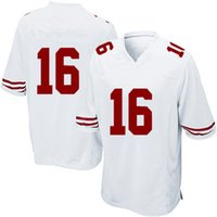 Wholesale San Francisco Footballs - 2017 Cheap youth american soccer Jerseys Elite #16 Joe Montana 42 Ronnie Lott 53 NaVorro Bowman San Francisco sportswear tracksuits