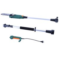 Wholesale Pole Saws - Electric Pole Chain Saw Hedge & Pole Hedge Trimmer Shorts & Tall Trimmer 2 in 1 suit Garden Pruning tools With Lengthening Bar Free shipping