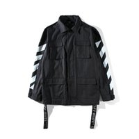 Wholesale United Arrows - Men's Coat Jacket Trend Hipster Splash paint Graffiti Arrow Europe and the United States style High Street