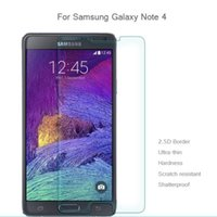 Wholesale Retail Sale Glasses - Hot Sale Tough Hard Tempered Glass Film Screen Protector for Samsung Galaxy Note 5 Note 4 Note 3 with Retail Package 10PCS Lot