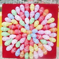 1.2m * 1.2m Balloon Dart Board Materiale in gomma Darts dedicato board Giant Dart Board OutdoorAdult bambini Darts Accessori