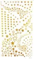 5 teile / los DIY glitter wasserdicht temporäre tattoo flash aufkleber party gold tattoo aufkleber tatuagem temporaria frauen bein körperkunst