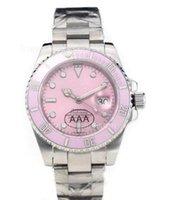 Wholesale Women Mechanical Watch Sale - Hot sale women watch mechanical automatic watches stainless steel wristwatch pink color 133