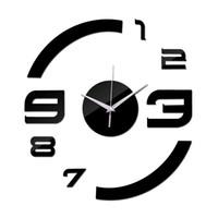 ingrosso orologio da parete dello specchio di modo-2016 reale nuovo limitato tempo limitato spedizione gratuita moda fai da te orologio da parete in acrilico moderni orologi specchio di lusso 3d orologi di cristallo TY2000