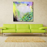 ingrosso arte astratta acrilica astratta-Modern Abstract Home Goods Wall Art Colore semplice Acrilico Immagine 100% dipinto a mano su tela per decorazione No Frame