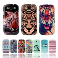 Wholesale-Fashion Owl Turm Flagge TPU weicher Fall für Samsung-Galaxie S3 SIII I9300 Silikon Skin Cover Handy Protect Shockproof Tasche