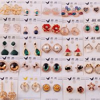 Wholesale Cheap Bow Earrings - Hot Selling Fashion 2016 New Design Cheap Bow Stud Earrings For Women Wholesale Jewelry Accessories Earing