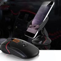 держатели для чашек держатели gps оптовых-Универсальный лобовое стекло автомобиля Держатель телефона крепление мыши присоски подставка подставка с кнопкой быстрого выпуска мыши GPS приборной панели крепление OTH108
