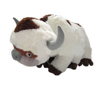 Wholesale tiger doll toy for sale - Group buy 16Inch Big Size Anime Kawaii Avatar The Last Airbender Appa Tiger Soft Stuffed Plush Toys Doll