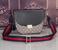 Wholesale Brand Leather Handbags Men - men women bags G ucci famous brand luxury lady PU leather handbags saffiano Designer saddle bags purse shoulder tote Bag 6228