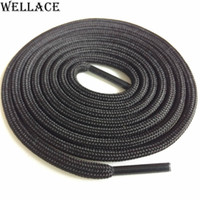 Wholesale decorations for boots - Wellace Two Tone Color Hiking Boot Laces Portable Rope Lacing Running Shoestring 120cm Sport Color Shoelaces for Sneaker Custom