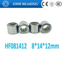 Wholesale One Way Roller Bearing - Wholesale- Free shipping 10pcs HF081412 FC-8 one way clutch needle roller bearing 8X14X12mm bearing 8mm shaft hexagon head