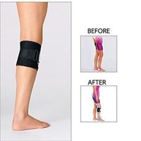 Wholesale Nerves Legs - Beactive Pressure Point Brace Back Pain Acupressure Sciatic Nerve Be Active Elbow Knee LEG Pads Black OPP Bag True Image Quality Top A056