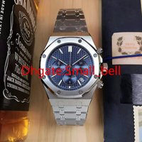 Wholesale Modern Import - 2018 Factory Outlet New Product AAA Quality Men's Stainless Steel Watch Imported VK Quartz Chronograph 42mm Men's Multifunction Watch