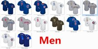 Wholesale cub logos - Mens Cubs 9 Javier Baez Baseball Jersey White Blue Gray Grey 2017 Players Weekend Gold Tem Logo Green Salute Cooperstown Mothers Fathers Day