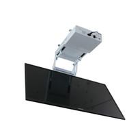 Wholesale electric hangers resale online - 2018 motorized electric hidden flip down false ceiling Led lcd tv lift mount hanger holder remote control function v v