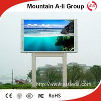 Wholesale Outdoor Display Screens Advertising - Shenzhen Mountain A-Li Group P13.33 Outdoor Waterproof Full Color LED Display Screen For Advertising With 1R1G1B DIP Module