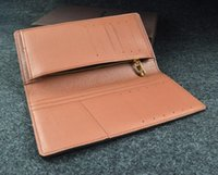 Wholesale Korean Leather Ladies Bags - Men's Zipper Closure Grid Leather Clutch Purse Bag Long Business Wallet ID Credit Cards Cell Phone Holder color