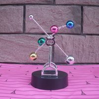 Wholesale Toy Wooden Ferris Wheel - Colorful ball perpetual motion machine perpetual motion celestial instrument Yong Heng pendulum swing is the ferris wheel creative novelty b