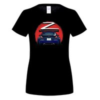 Divertente t-shirt Hip Hop Nissan Fairlady 350Z Z33 Car Midnight Blue Uomo 100% cotone Tee Shirt New WOMen Tee T Shirt