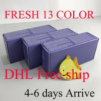 Wholesale Contact Lens Boxes Wholesale - Get 10pc free Real 13 color fresh colorblend DHL arrive 4-6 days 3 Tone contact lenses box 100pc =50pair Contact lens case