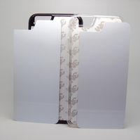 Wholesale Sublimation Plating Case Iphone - DIY Sublimation Cases For Iphone 6 6s Plus Samsung S7 S7edge Plus 2D Heat Press PC Cover Case With Aluminium Plates DHL