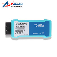 Wholesale toyota techstream j2534 - 2018 Professional WiFi Version VXDIAG VCX NANO for TOYOTA TIS Techstream V10.10.018 Compatible with SAE J2534 vxdiag toyota Free Shipping8