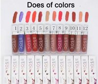 Wholesale Wholesale Janet - Discount ! Dose Of Colors Liquid Matte Lipstick Waterproof Lip Gloss Lipgloss various colors from janet retro matte lip gloss
