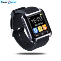 Bluetooth U80 Smart Watch BT-notificação Anti-Lost MTK WristWatch para iPhone 4 / 4S / 5 / 5S Samsung S4 / Nota 2 / Nota 3 Android Phone