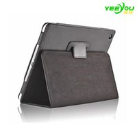 Para Apple iPad Case Cover Stand 2 Fold Litchi Folio Magnetic PU Leather para iPad Mini 2 3 4 Air Pro
