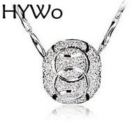 perles clignotantes halloween achat en gros de-HYWo 925 pendentif en argent sterling perle transporteur modèles féminins bijoux de mode sauvage vintage mignon super flash bijoux magasins d'usine