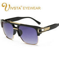5eec09d718 Wholesale vintage hipster - IVSTA New Fashion Brand Design Grandmaster Four  Steampunk Sunglasses Men Vintage Retro
