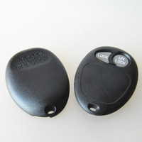 Wholesale Gm Fob Cover - New car key case for GMC 2 button remote key shell FOB key cover GM key blank free shipping
