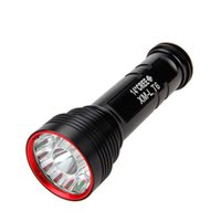 Wholesale Low Cost High Flashlight - Cost price ! 14 Super bright waterproof led flashlight 14 x C- XM-L 14T6 LED Lamp Led Torch by 18650 Rechargeable Battery